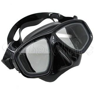 Scuba Black Dive Mask NEARSIGHTED Prescription RX Optical Lenses