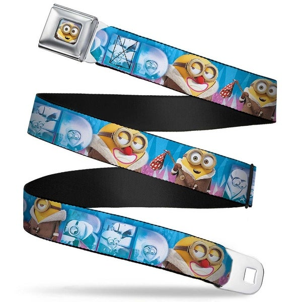 Bob Arctic Pose Full Color Minion Artic Period Poses Bored Blues Pinks Seatbelt Belt