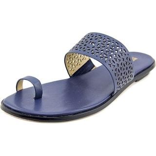 Michael Michael Kors Joy Slide Women  Open Toe Leather  Slides Sandal