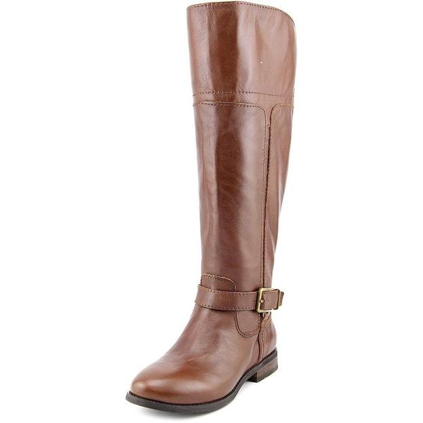 Marc Fisher Aysha Wide Calf Women Medium Brown Boots