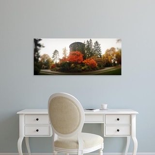 Easy Art Prints Panoramic Images's 'Water tower, Volunteer Park, Capitol Hill, Seattle, King, Washington' Canvas Art