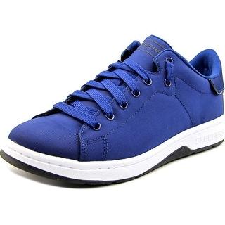 Skechers Alpha Lite Men Round Toe Leather Blue Sneakers