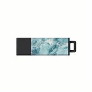 32GB USB 3.0 Datastick Pro2 Flash Drive, Marble & Aqua