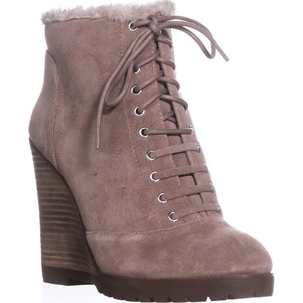Jessica Simpson Kaelo Ankle Booties, Warm Taupe