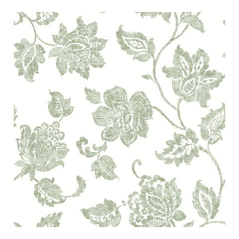 Guy Green Jacobean Wallpaper - 20.5 x 396 x 0.025