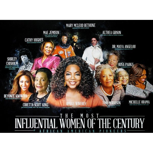 Famous Black Women Poster African American History (18x24) - Multi-Color