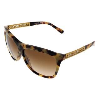 Michael Kors M6010 BENIDORM 301313 Vintage Tortoise Square Sunglasses