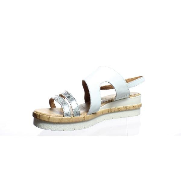 Shop Tamaris Womens Wortmann White Slingbacks EUR 40 Free