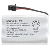 Replacement BT446 Battery for Uniden 5.8GHz TRU5885-2 / TRU9480 / TRU9496 Phone Models