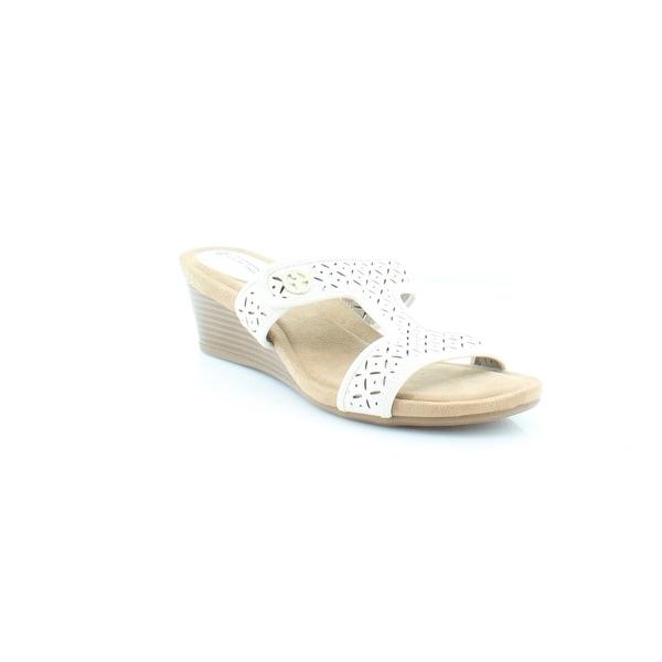 Giani Bernini Brezaa Women's Sandals & Flip Flops Gardenia - 10