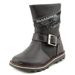 Beeko Esther Round Toe Synthetic Boot