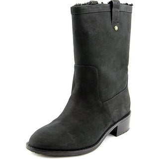 Cole Haan Jessup WP Women C Round Toe Leather  Mid Calf Boot