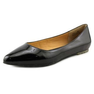 Me Too Aimee Women Round Toe Patent Leather Ballet Flats