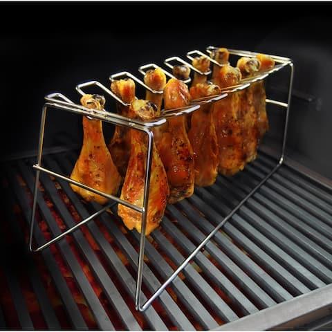 Bayou Classic® Stainless Chicken Leg Rack