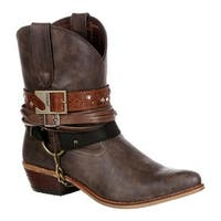"Durango Boot Women's DRD0121 6"" Durango Crush Boot Brown Faux Leather"