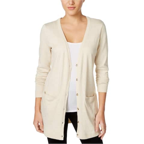 G.H. Bass & Co. Womens Pocket Duster Cardigan Sweater