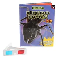 REAL BUGS Micro Bugs in 3-D Book