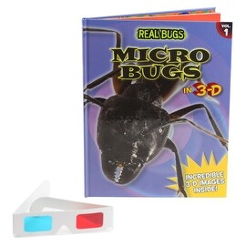 REAL BUGS Micro Bugs in 3-D Book