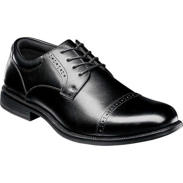 Shop Nunn Bush Men S Nantucket Cap Toe Oxford Black