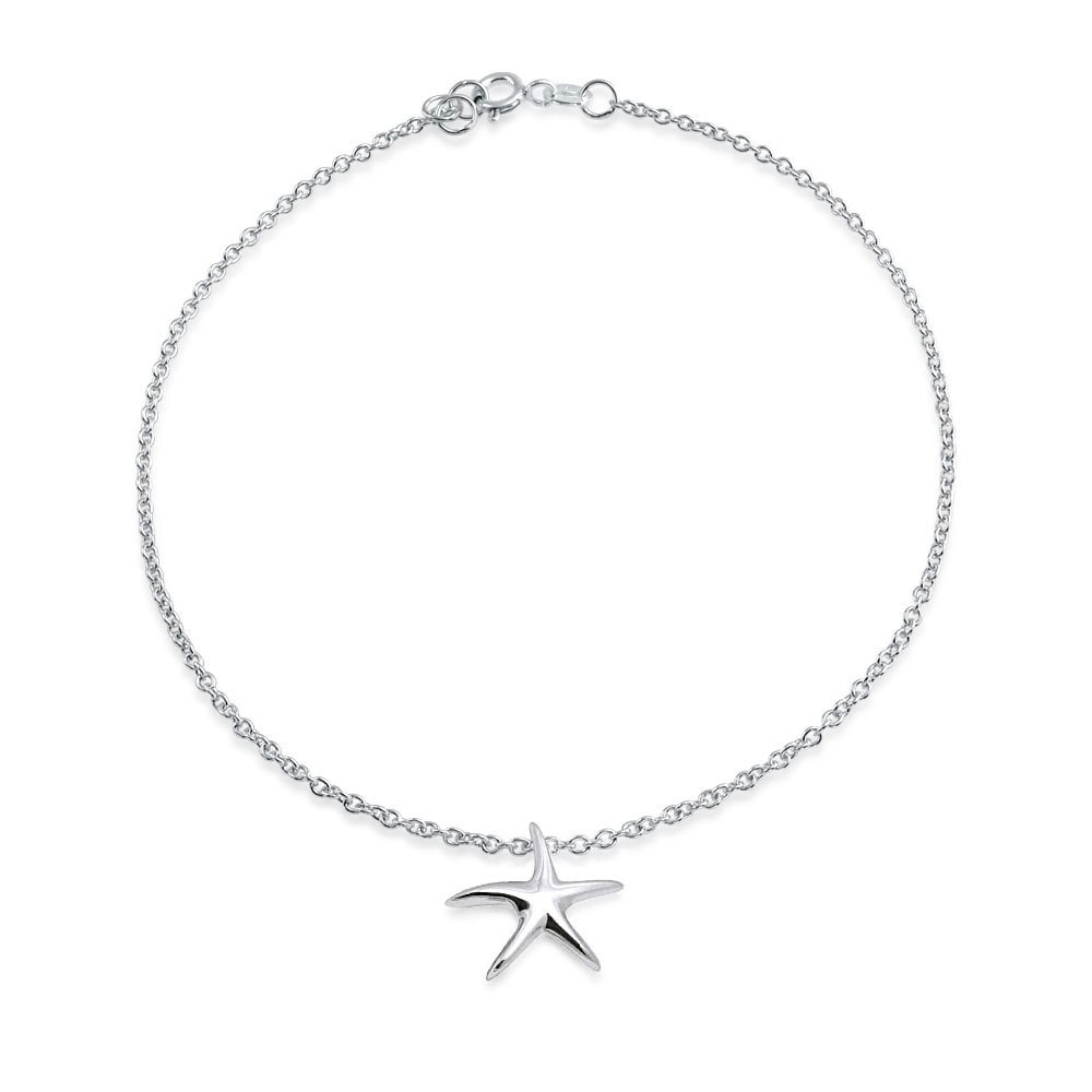 3 Sterling Silver 925 3.2mm ROLO Chain 4 STRAND ANKLETS