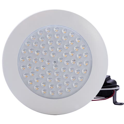 """6"""" 13W Dimmable Downlight Cathedral Ceiling 3500K LED 30° Beam Angle Flush Mount"""