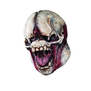 Monster Skull Costume Mask Adult One Size - Beige