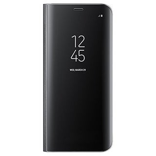 Samsung S-View Flip Cover Clear for Samsung Galaxy S8 - Black S-View Flip Cover Clear for Samsung Galaxy S8
