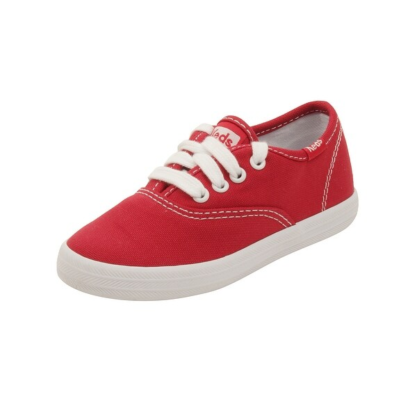 ceb3a3a9daa Shop Keds Toddler Champion CVO Sneakers in Red - Free Shipping On ...