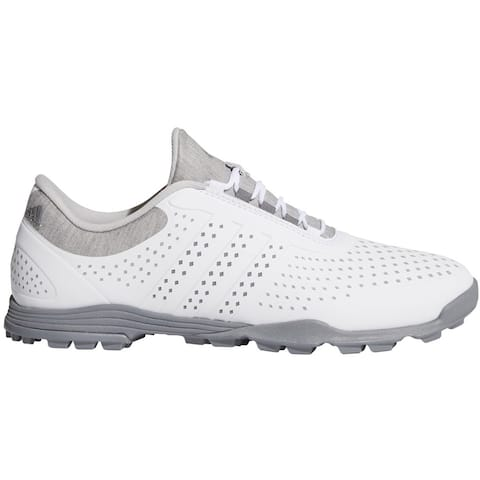 New Adidas Women's Adipure Sport Golf Shoes White/Grey AC8525