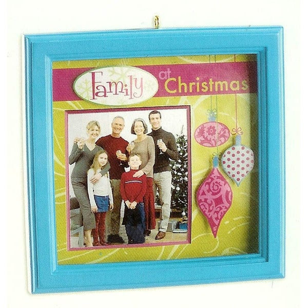 Carlton Cards Heirloom Family & Friends Picture Frame Christmas Ornament