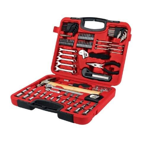 Performance Tool W1532 Home and Auto Tool Set, Red, Steel