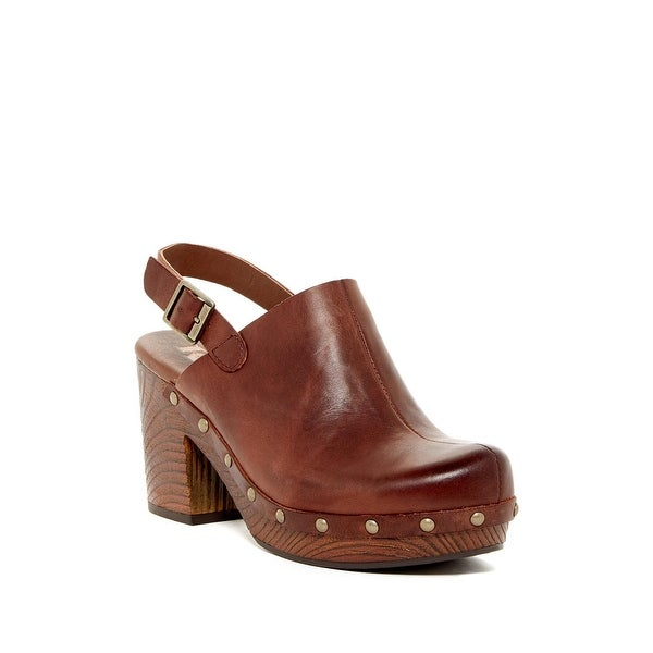 31a4503f5fc Korks by Kork-Ease Womens Rosenthal Leather Closed Toe SlingBack Clogs