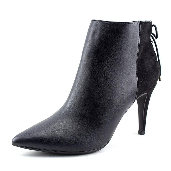 Thalia Sodi Taavi Pointed Toe Leather Bootie