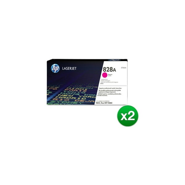HP 828A Magenta LaserJet Imaging Drum Toner Cartridge (CF365A)(2-Pack)