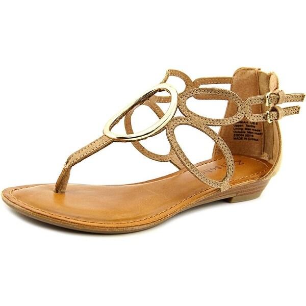 Zigi Soho Markah Women Open Toe Synthetic Tan Thong Sandal
