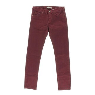 Zara Girls Solid Flat Front Casual Pants