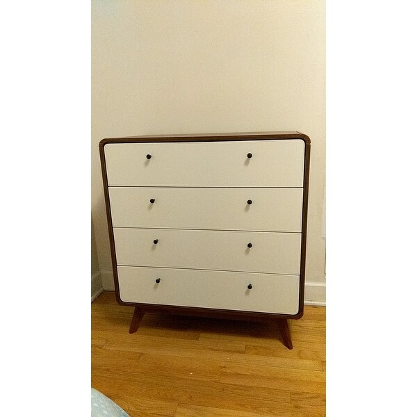 f28b8af31bc2 Shop Carson Carrington Hafnarfijorour Mid-century 4-drawer Chest - On Sale  - Free Shipping Today - Overstock - 19665308