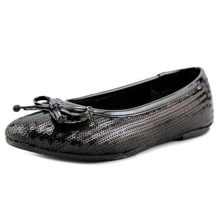 Rachel Shoes Margie Round Toe Synthetic Flats|https://ak1.ostkcdn.com/images/products/is/images/direct/4f6af0e7385b0ae956976cd24e0ae5ca05802dbc/Rachel-Shoes-Margie-Youth-Round-Toe-Synthetic-Black-Flats.jpg?impolicy=medium