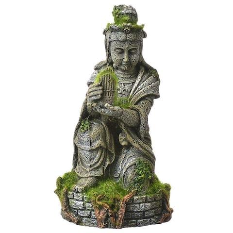 582b4067c5fa Exotic Environments Ancient Buddha Statue with Moss Aquarium Ornament 4