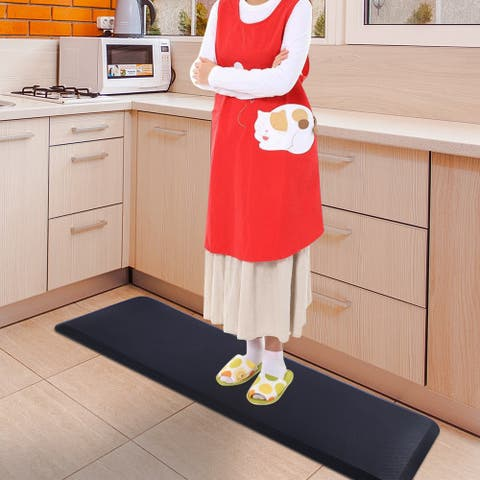 "70"" Beauty Rectangle Anti-fatigue Mat for Salon Kitchen Home Office"