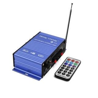 2 Channel Mini Hi-Fi Digital Display Screen Stereo Audio Amplifier for Car