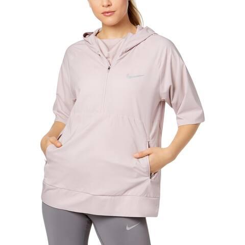 Nike Womens Pullover Coat Fall Water Repellant