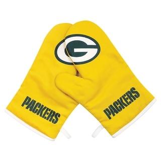 Green Bay Packers NFL Oven Cross Mitt Gloves