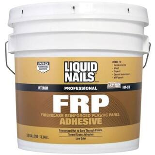 Liquid Nails FRP-310 3.5GALL Latex Based Adhesive, 3.5 Gallon|https://ak1.ostkcdn.com/images/products/is/images/direct/4f6ce296d3f259532ddbe9a67988b20a7707a62b/Liquid-Nails-FRP-310-3.5GALL-Latex-Based-Adhesive%2C-3.5-Gallon.jpg?impolicy=medium