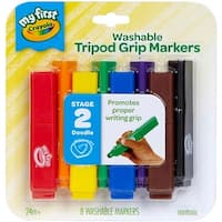 - Crayola My First Tripod Grip Markers