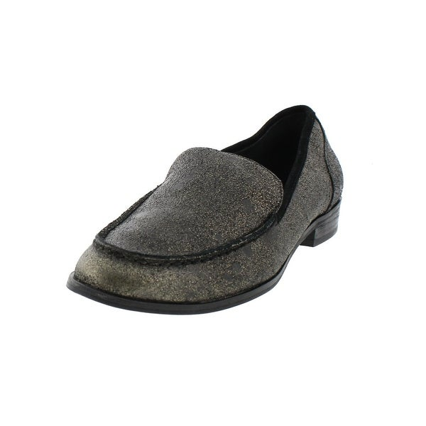 Dolce Vita Womens Demir Loafers Metallic Casual