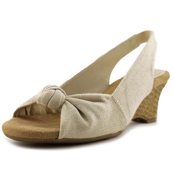 Aerosoles Zen Garden Women Cream Sandals