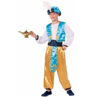 Forum Novelties Arabian Prince Child Costume (Medium) - Blue/Yellow - Medium