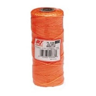 Marshalltown ML338 Braided Nylon Mason's Line 500', Orange
