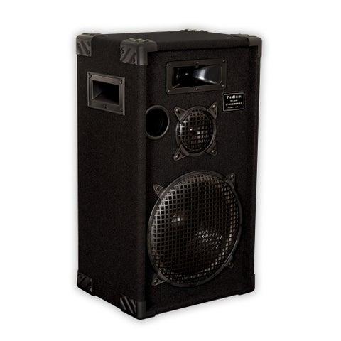 "Podium Pro by Goldwood E1200C Passive Speaker 12"" PA DJ 3 Way Karaoke Home"